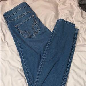 hollister size 3 short skinny jeans